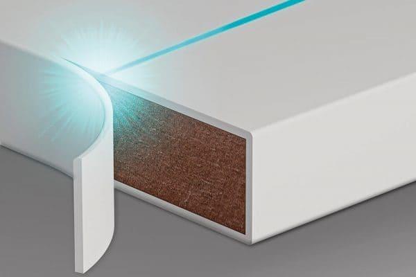 Borda com tecnologia Laser Dell Anno