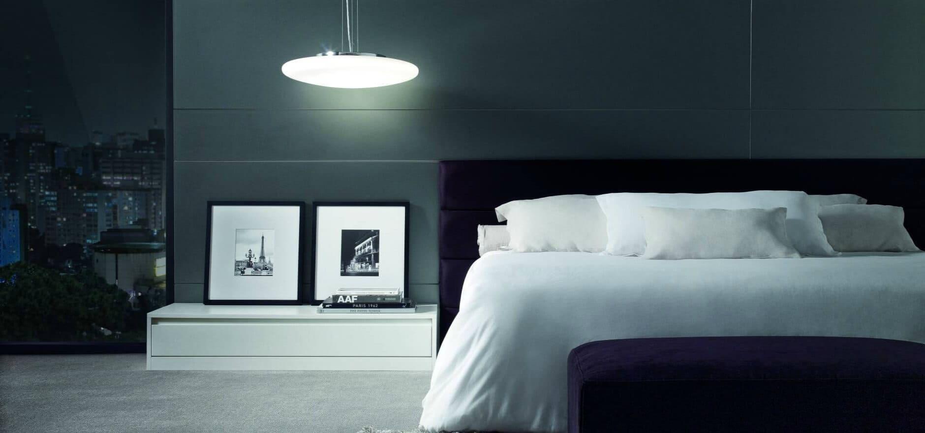 Dormitório Dell Anno Curitiba Móveis Planejados Cinza Branco 1