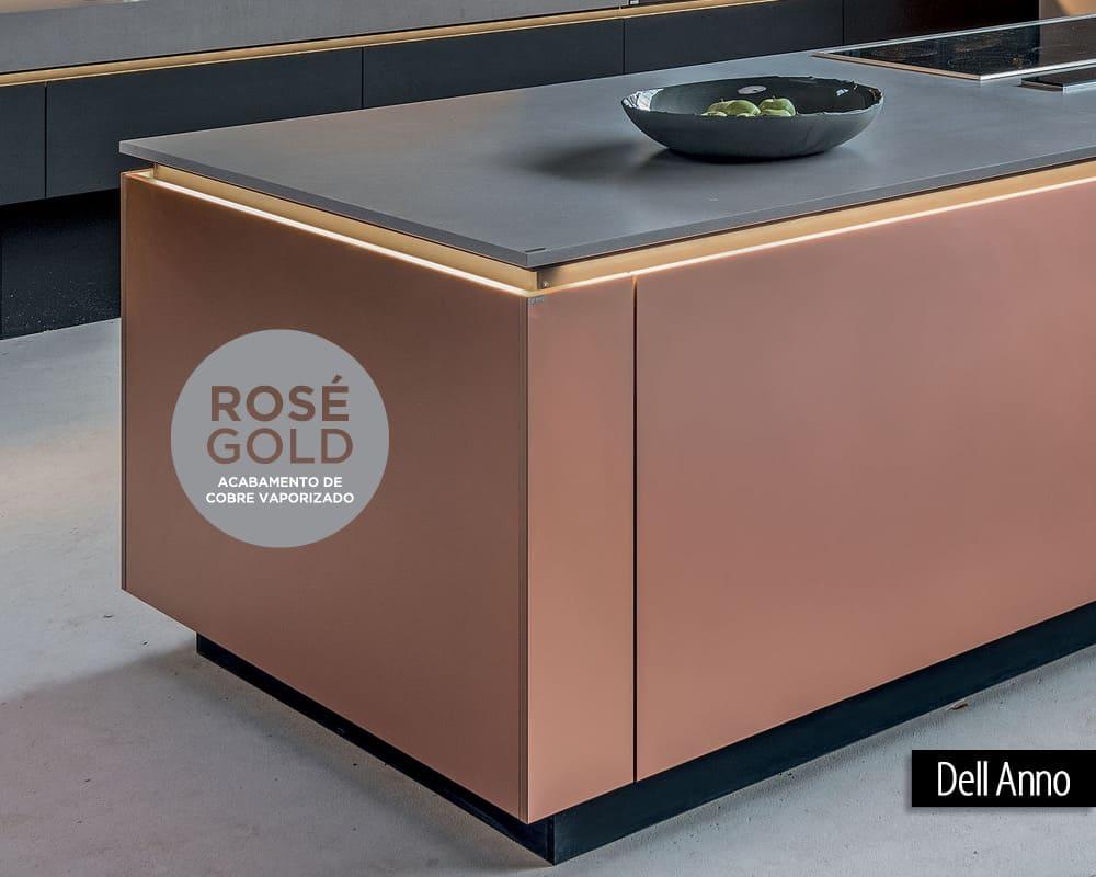 Smart Materials: Rosé Gold Dell Anno Curitiba
